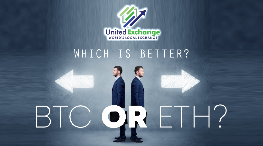 Bitcoin vs Ethereum Which is a better investment ?
